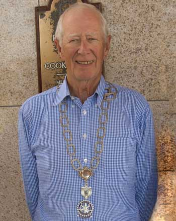 2018 -19  President of Cookstown Rotary Club Philip Orr