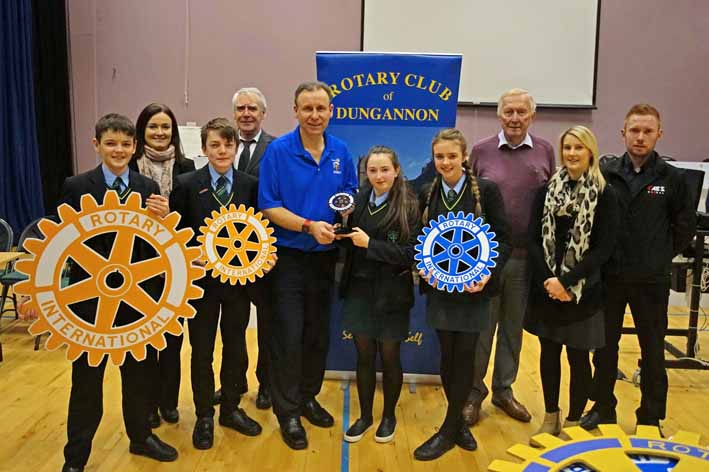 Dean Maguirc College winners of Rotary Technology Tournament